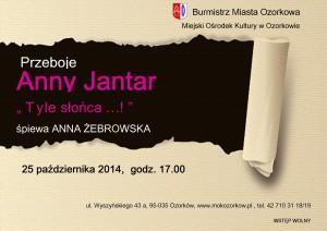 Plakat Anna Jantar
