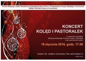 plakat - koncert kolęd